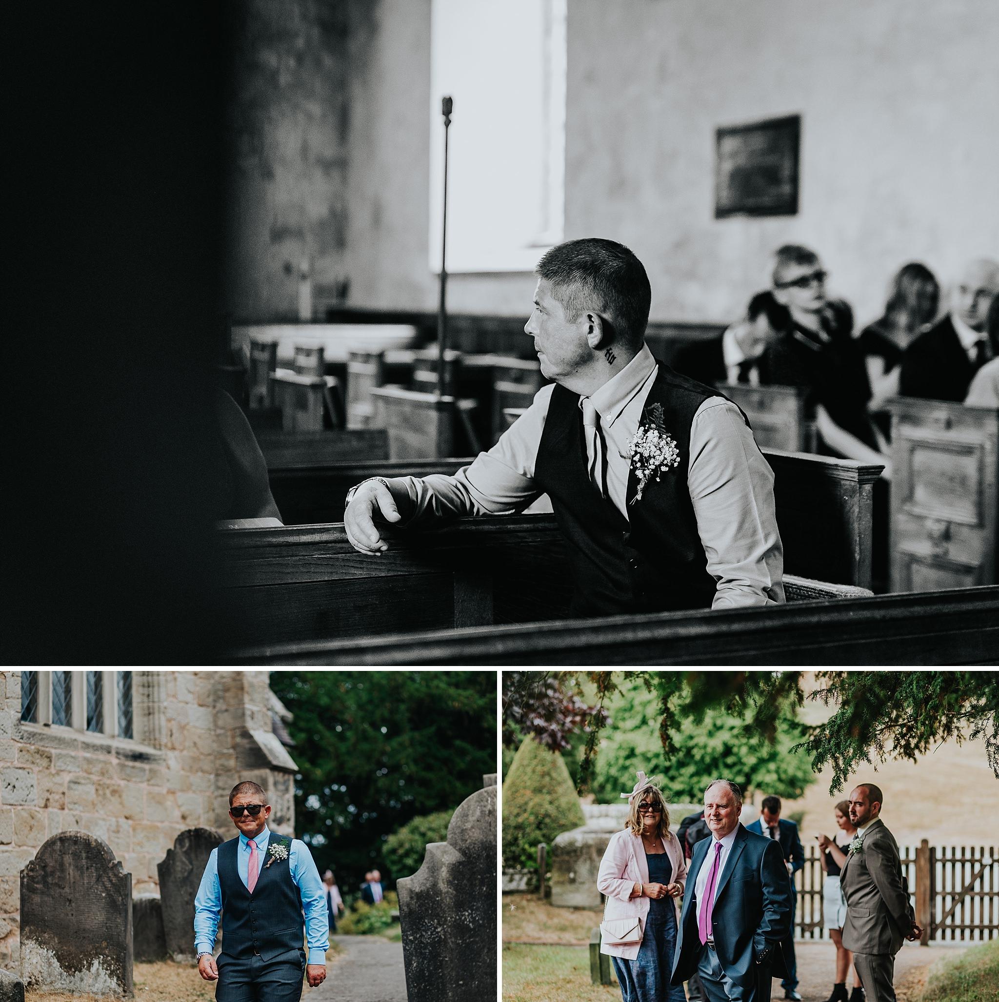 weddings in Staffordshire sandon church