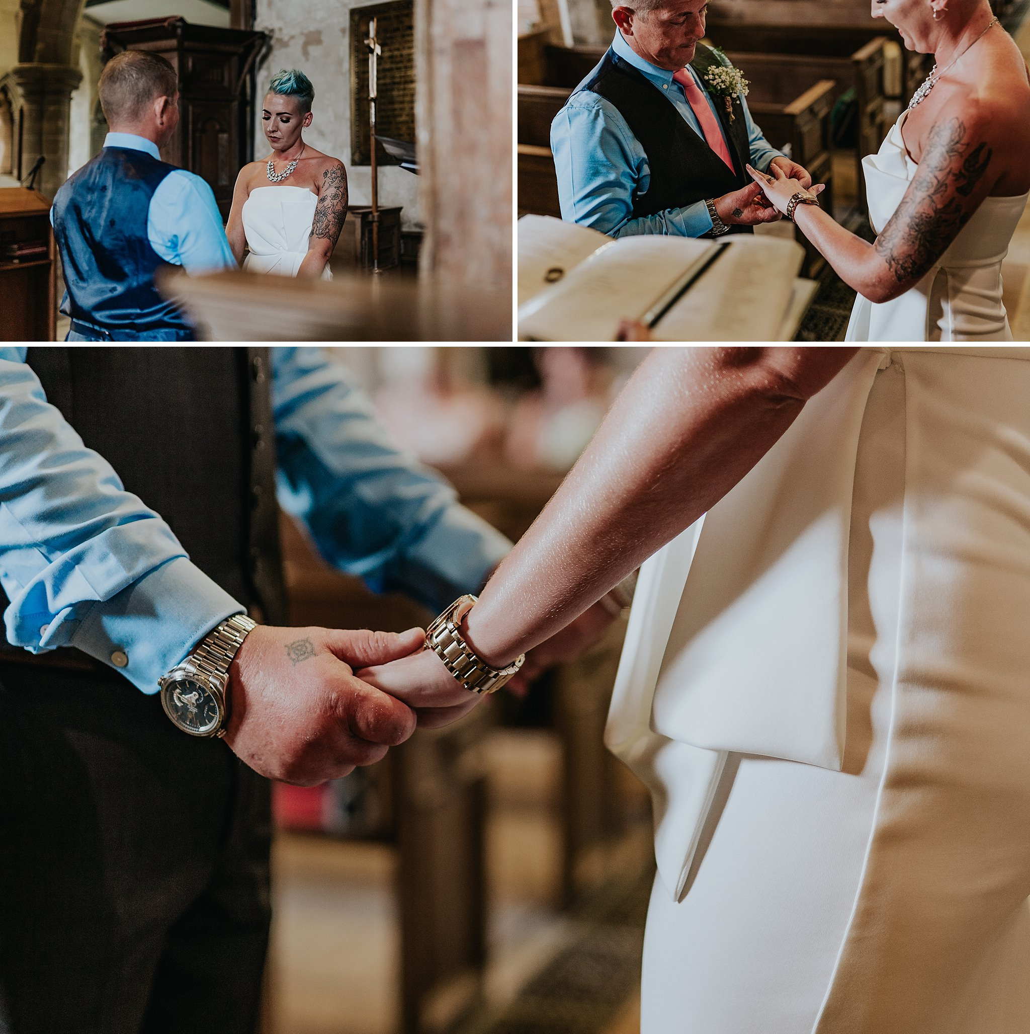 Creative documentary wedding photographer Staffordshire