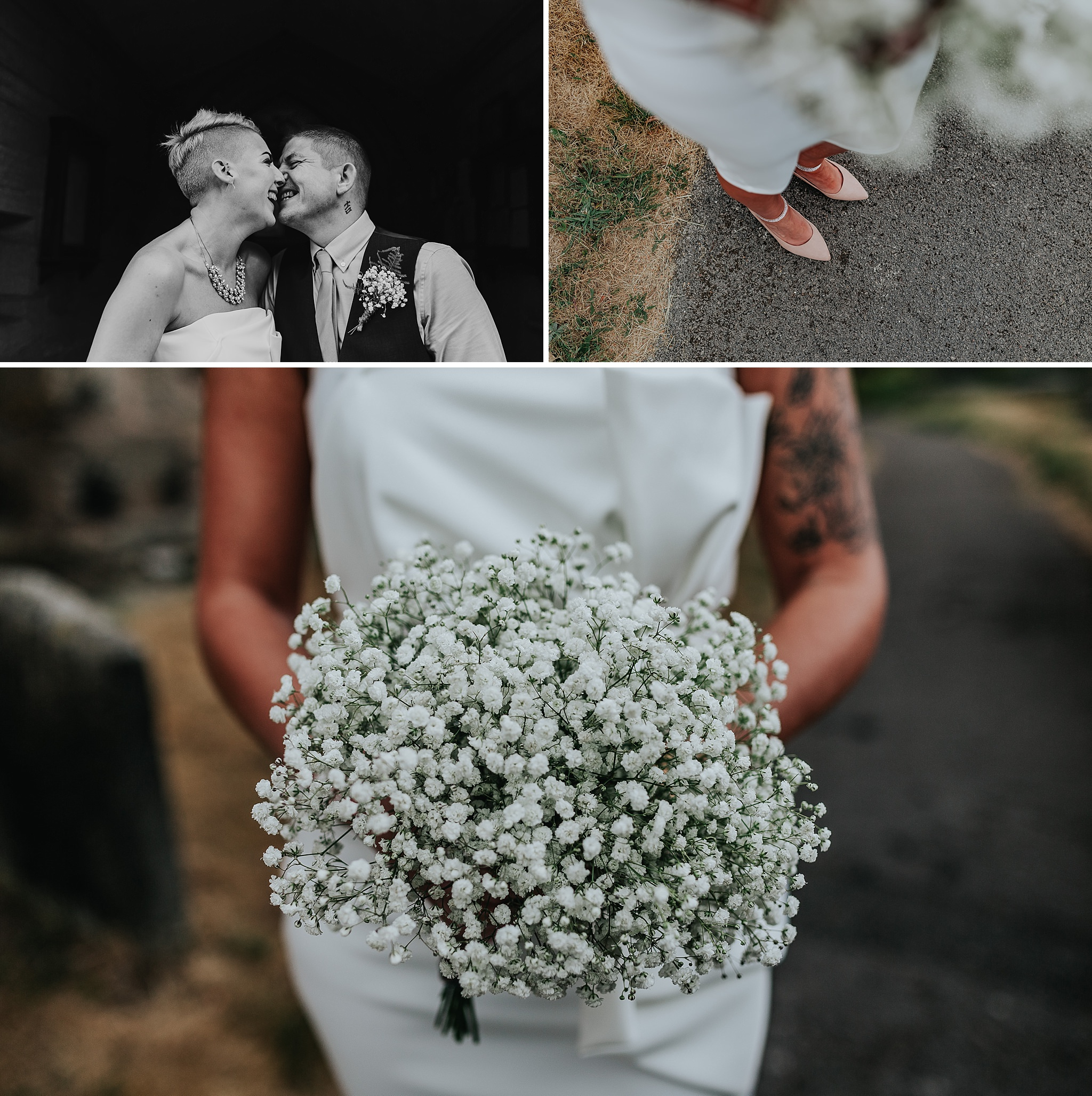 Documentary wedding photographer Staffordshire