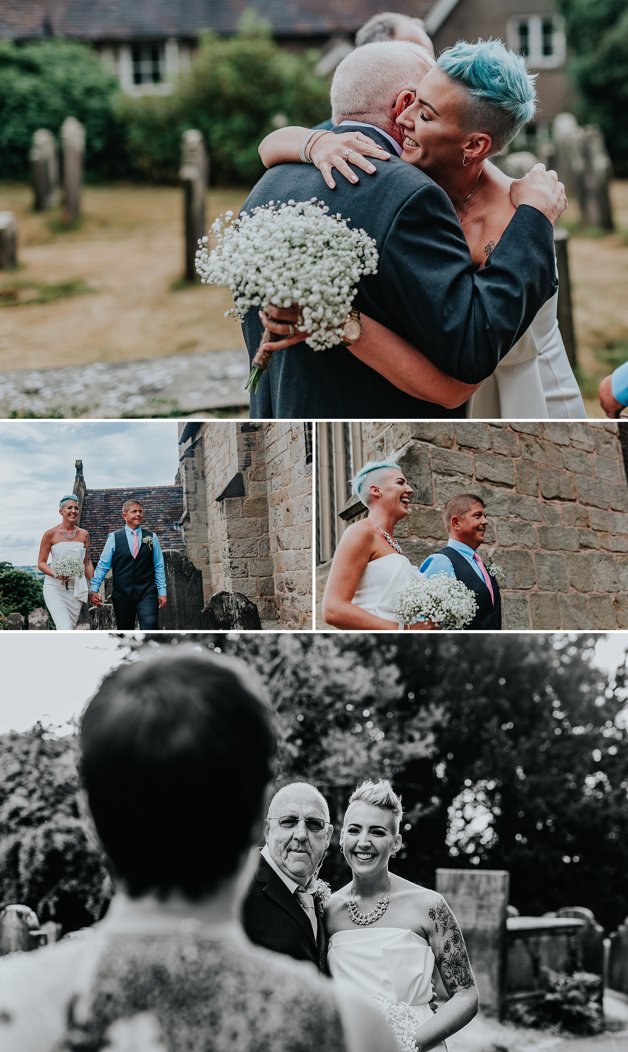 Documentary wedding photographer Staffordshire