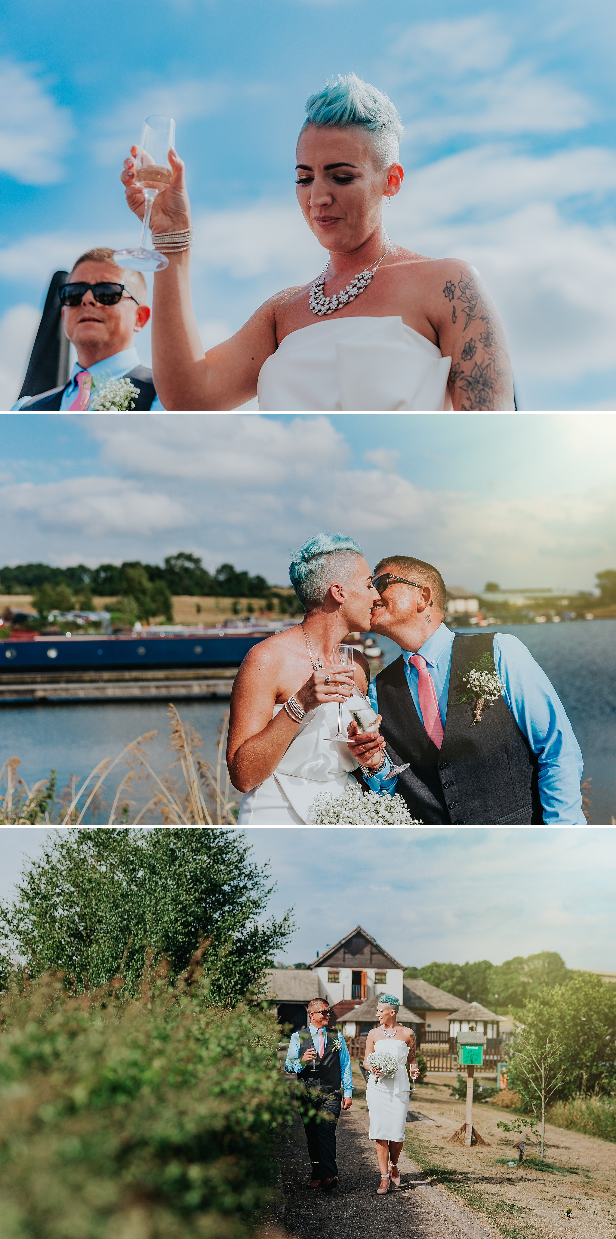 Aston Marina wedding, Staffordshire, wedding photographer