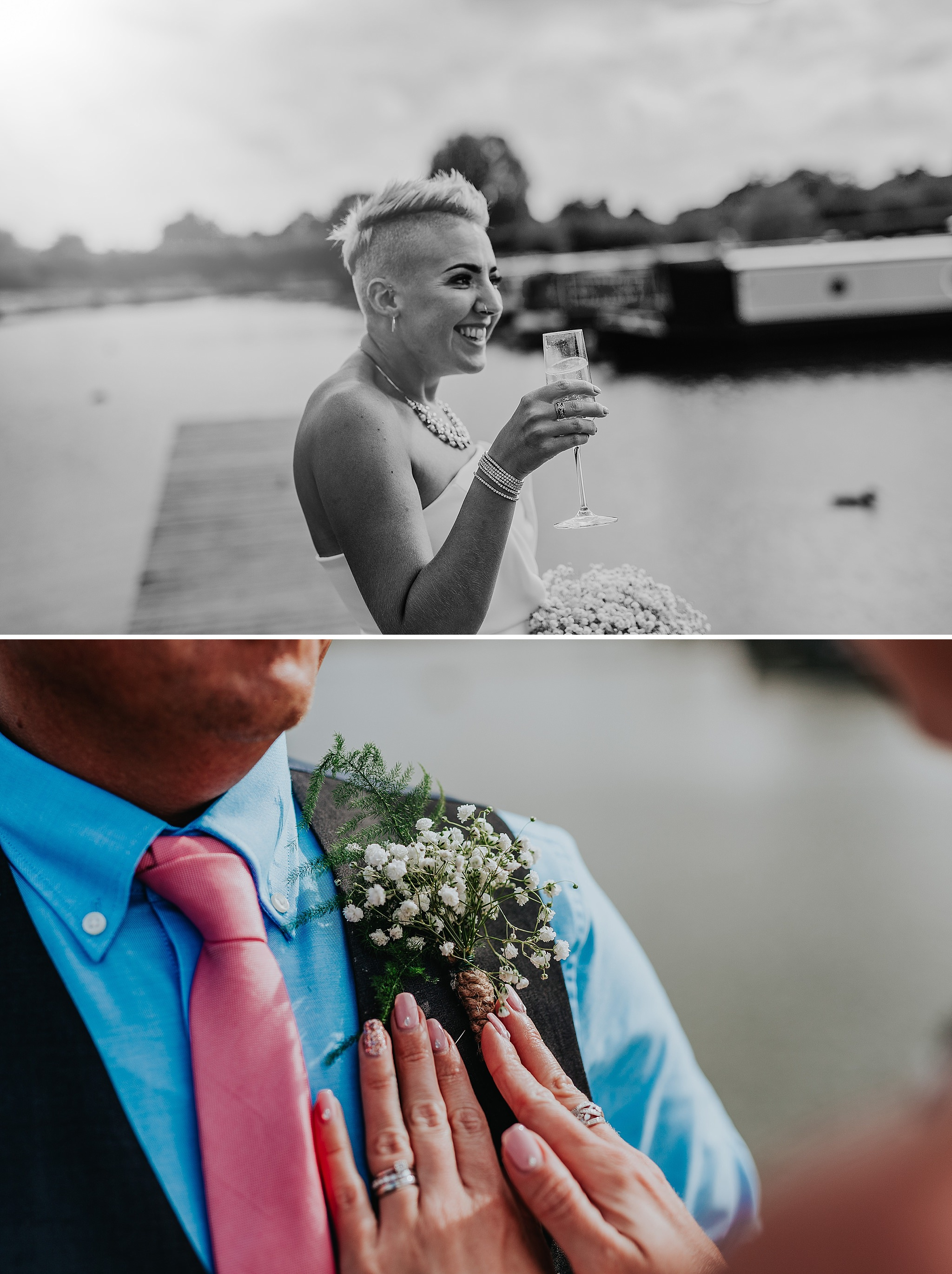 Aston Marina wedding, Staffordshire, photographer