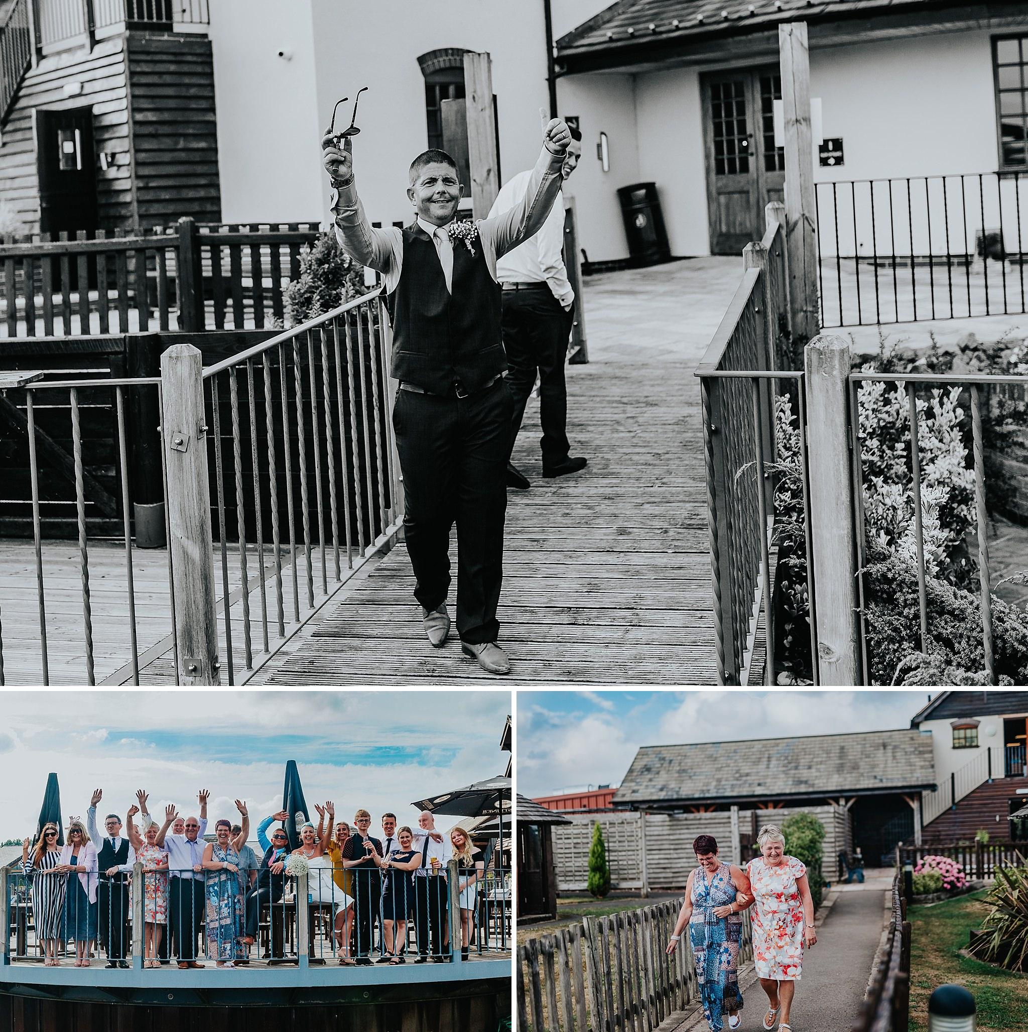 Creative wedding photographer, documentary Staffordshire